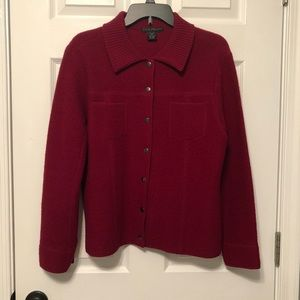 Sarah Spencer Wool Button Up Jacket